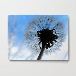 SOFT AND PUFFY DREAMS Metal Print