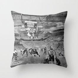 REMIX CITY: WHITEOUT Throw Pillow
