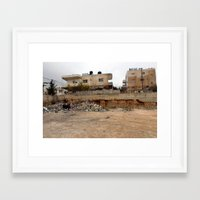 palestine Framed Art Prints featuring Bethlehem, Palestine by colLABorate: ideas & images