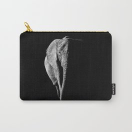 African Elephant Portrait Carry-All Pouch