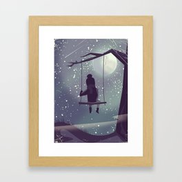 Twinkle Twinkle little star Framed Art Print