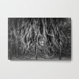 Entwined Beauty Metal Print