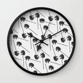 Heisler Palms Wall Clock