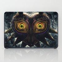 majora iPad Cases featuring Epic Pure Evil of Majora's Mask by Barrett Biggers