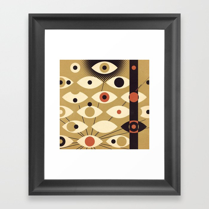 Divisions - Part II Framed Art Print