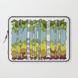Rainbow Birches Laptop Sleeve
