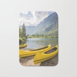 Bohinj lake, Slovenia Bath Mat