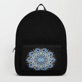 ice flake winter mandala Backpack