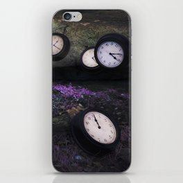 Lost In Time iPhone Skin