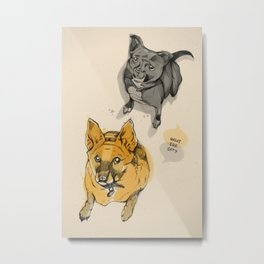 Stuey & Griffin Metal Print