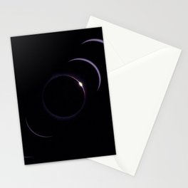 Diamond Ring Eclipse Stationery Cards
