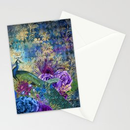 Feather Peacock 20 Stationery Cards
