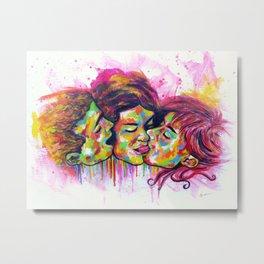 LOVE 3 Metal Print