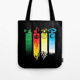 Avatar Element Tote Bag