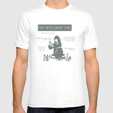 Hermione Granger / The Intelligent Girl Mens Fitted Tee MEDIUM White