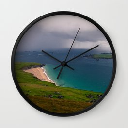 Great Blasket Island Wall Clock