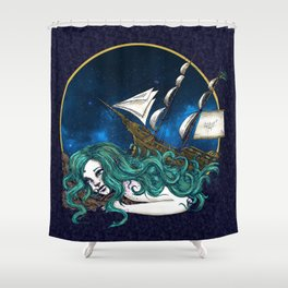 That Ship has Sailed Shower Curtain