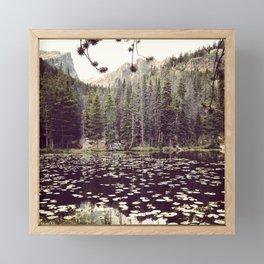 A Hike in Peace Framed Mini Art Print