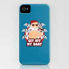 Get off my Boat Slim Case iPhone (4, 4s)