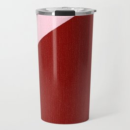 Blue Triangle Travel Mug