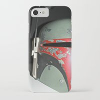 boba fett iPhone & iPod Cases featuring Boba Fett by McKenzie Nickolas