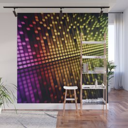 sound mixer equalizer Wall Mural