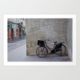 Bicycle in Vienna Art Print