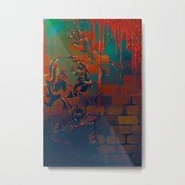 iBleed Metal Print