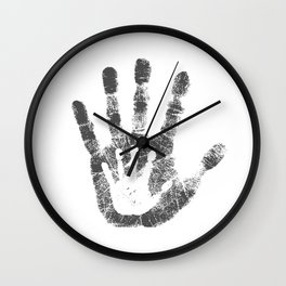 The Child Without Doubt Wall Clock