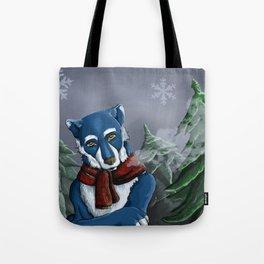 Winterwolf Tote Bag