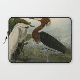 256 Purple Heron Laptop Sleeve