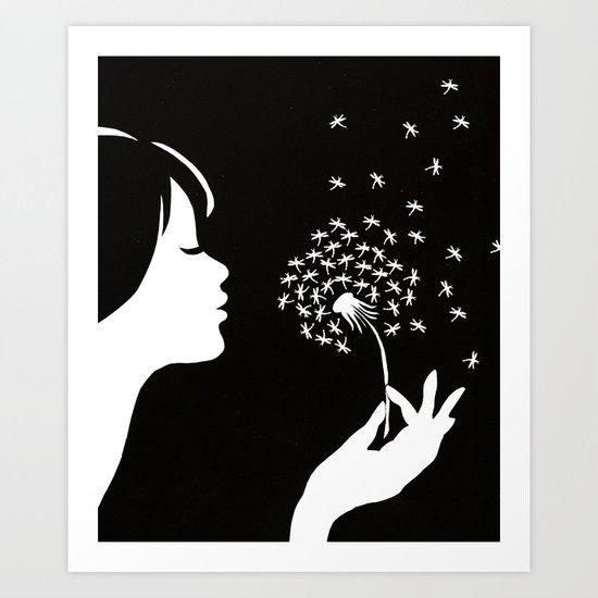 as I wish Art Print