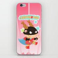 superheros iPhone & iPod Skins featuring Candywoman by Alapapaju