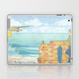 Beach in my Backyard - watercolour print 2 Laptop & iPad Skin