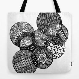 Sharpie Circles Tote Bag
