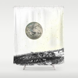 Out of this World (Version 2) Shower Curtain