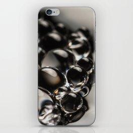 Grey Little Globules iPhone Skin