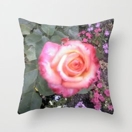 First Blush Throw Pillow