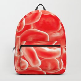 RED BLOOD CELLS MICROSCOPIC VIEW IMAGE MEDICAL LABORATORY SCIENTIST Backpack