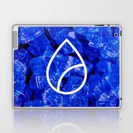 Lapis Lazuli Candy Gem Laptop & iPad Skin