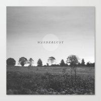 wanderlust Canvas Prints featuring Wanderlust by Tina Crespo