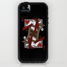 Omnia Suprema Queen of Hearts iPhone Case