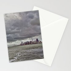Overlooking San Francisco & The Bay Bridge Stationery Cards