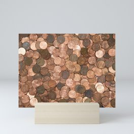 Pennies for your thoughts Mini Art Print