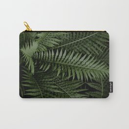 Tropical leaves 02 Carry-All Pouch