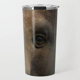 Elephant closeup Travel Mug