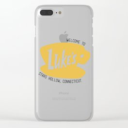 Lukes Diner Clear iPhone Case