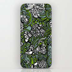 Birds pattern iPhone & iPod Skin