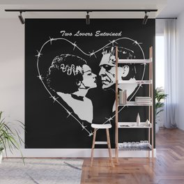 MAKE THIS OCTOBER AND HALLOWEEN A SCREAM WITH 2 LOVERS ENTWINED Wall Mural