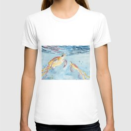 Take A Breath Sea Turtle T-shirt
